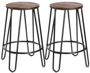 best industrial backless bar stools