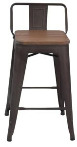 best industrial bar stools with backs