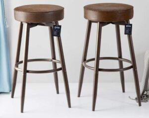industrial bar height stools