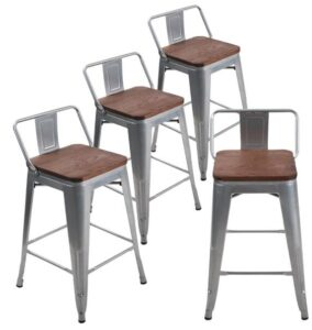 stackable counter height stools