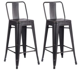Extra Tall Industrial Bar Stools