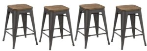 industrial style counter stools