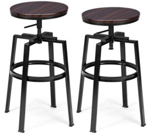 Metal Adjustable Bar Stools