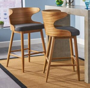 Admirable Top 25 Best Cushioned Bar Stools On The Market Reviews 2019 Andrewgaddart Wooden Chair Designs For Living Room Andrewgaddartcom