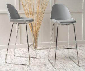 Modern Metal Bar Stools