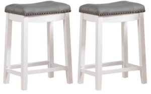 padded leather counter stools