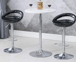 clear plastic bar stools