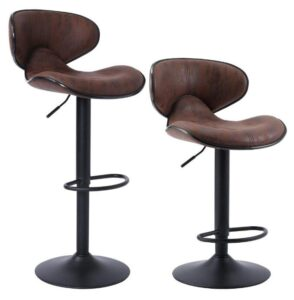swivel cushioned bar stools