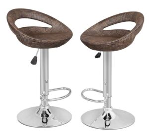 Adjustable Height Bar Stools With Backs