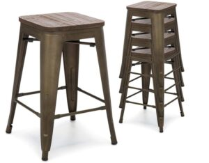 stackable bar chairs