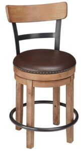 leather seat bar stools
