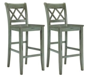 timber bar stools with backs
