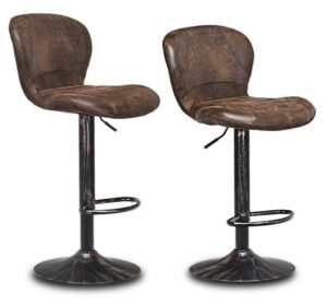 vintage adjustable bar stools