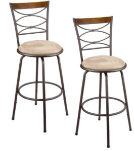 best vintage bar stools with backs