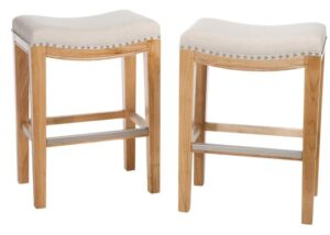 Coloured Wooden Bar Stools