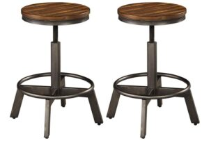 Adjustable Backless Bar Stools