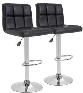 height adjustable bar stools for carpet