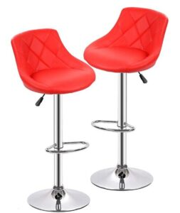 orange bar stools