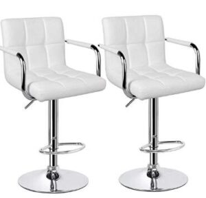white bar stools reviews