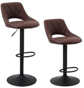 cushioned bar stools