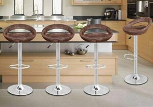 swivel bar stools for hardwood floor