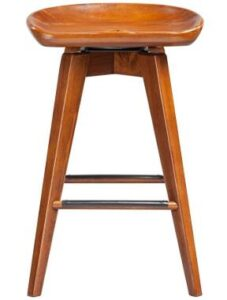 walnut bar stools review