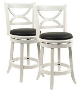 metal bar stools with round seat