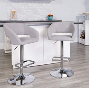 kitchen bar and stools