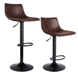 breakfast bar stools with backs