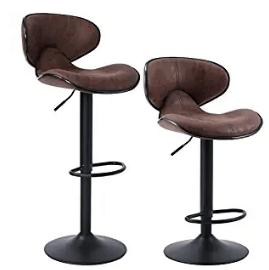 mid back swivel bar stools