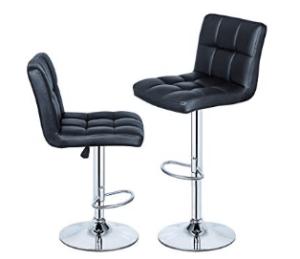 valuable black bar stools