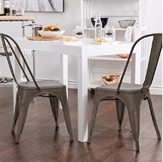 18 inch metal stool