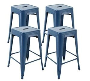 backless wood stools