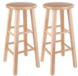 best round 24 inch maple stools