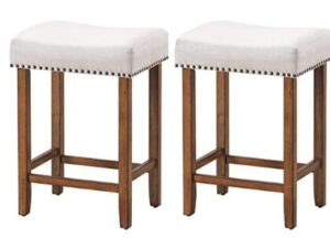 metal backless stool