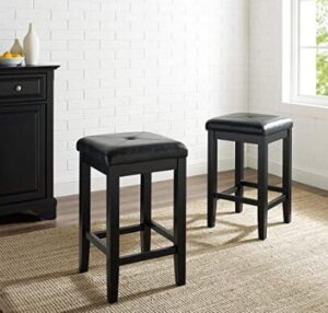 24 leather bar stools