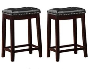 Top 10 Best 24 Inch Leather Bar Stools Reviews For Extra Comfort