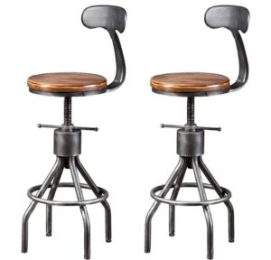 Tall Industrial Bar Stools
