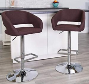 Flash Furniture fabric stool