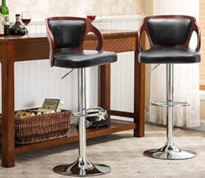 Homall adjustable counter height stools review