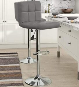 KaiMeng adjustable counter height stools with back