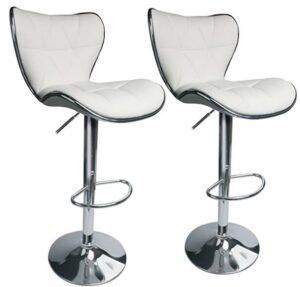 Leopard best adjustable bar stool with back