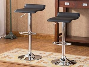 Roundhill Chrome Bar Stool