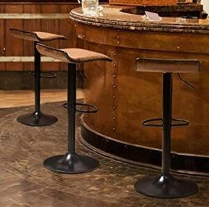 XPELKYS best adjustable bar stools with backs