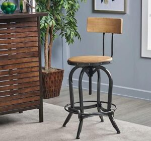 best adjustable bar stools with backs