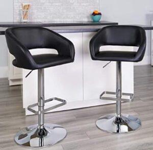 flash furniture best adjustable bar stools with backs
