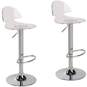 jersey seating best reviewed acrylic swivel bar stool