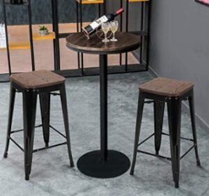 How to choose backless bar stools size