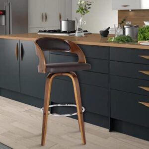 affordable leather counter stools