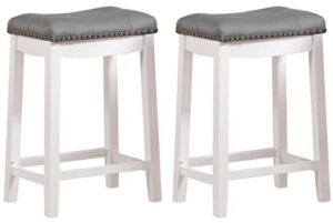 backless bar stool with cushion